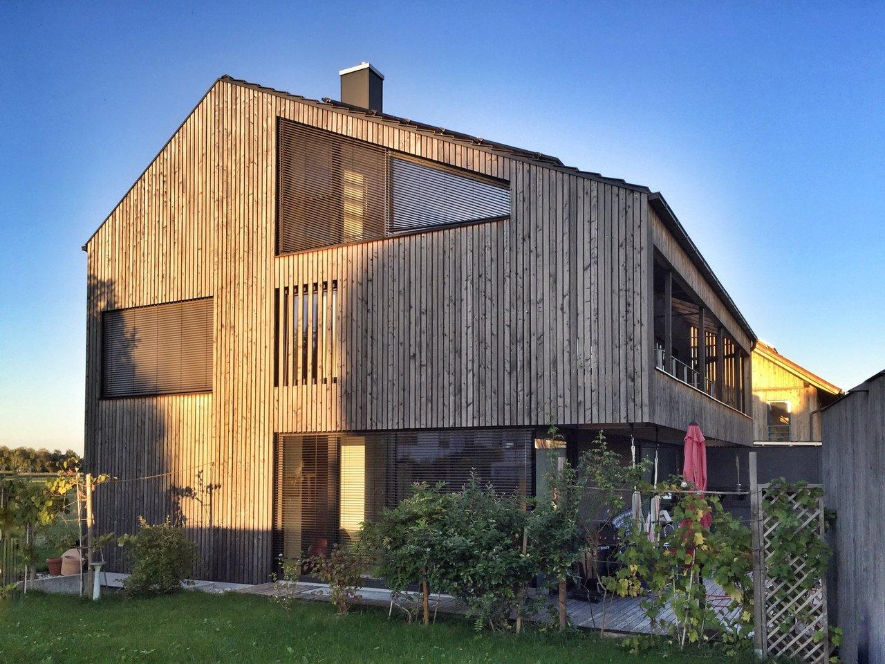 Häufig Holzfassaden - schöne Optik, gute Wärmedämmung - Utz Design GmbH CU42